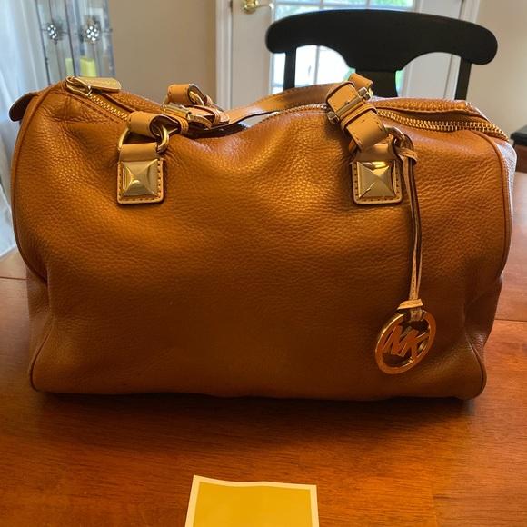 Michael Kors Handbags - Authentic Michael Kors leather large satchel
